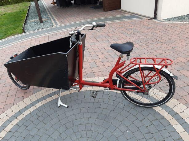 Rower, riksza, wózek.