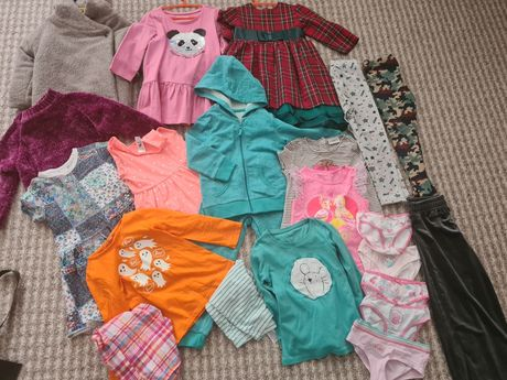 Набор пакет одежды 3-5лет zara next