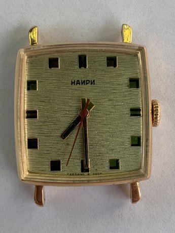 Золотые мужские часы Наири