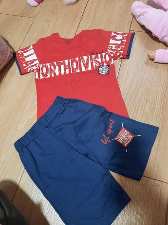 Новый летний костюм шорты и футболка