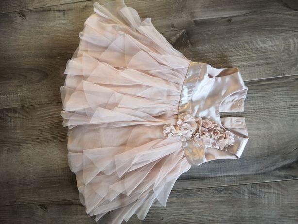 Śliczna sukienka 3-6 miesięcy George jak nowa