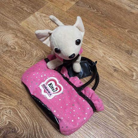 Музыкальная собачка Kikki в сумочке