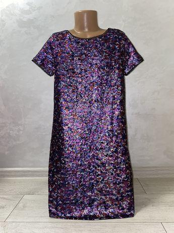 Платье паетки 10 лет