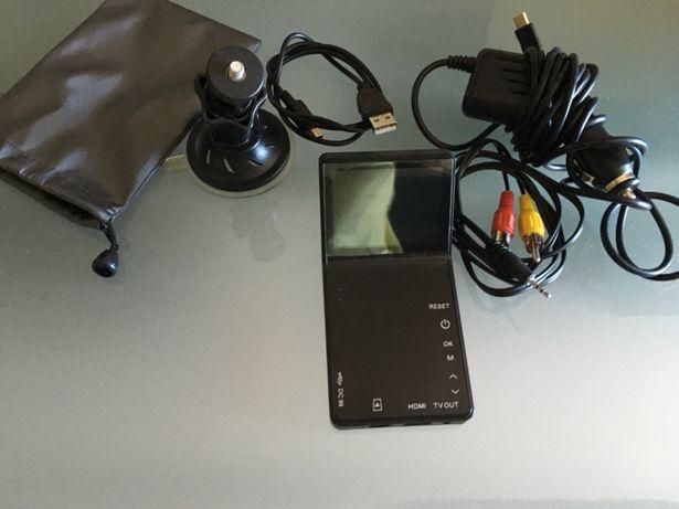 Câmera de gravação HD auto com portes incluídos