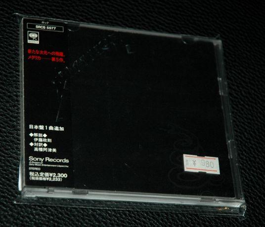 METALLICA - Metallica. 1991 Sony Japan. OBI