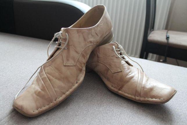 Pólbuty męskie, buty wizytowe rozmiar 41