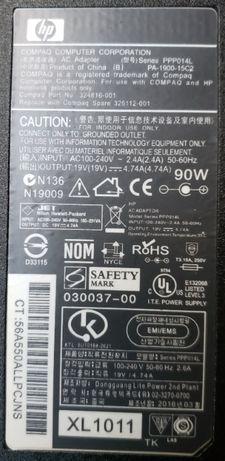 Блок питания HP 19V 4.74A 90W 324816-001