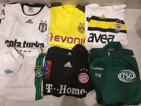 Koszulki klubowe i reprezentacyjne