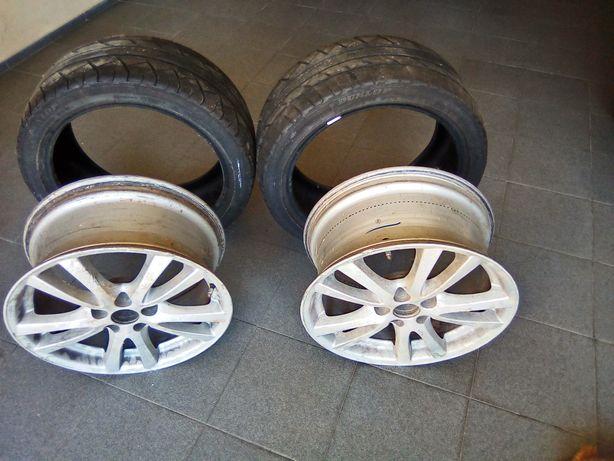 Jantes e pneus Lexus is 220
