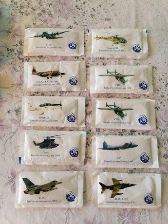 Colecção pacotes de açúcar Força Aérea Portuguesa