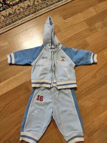 Утеплённый спортивный костюм, 62 рост