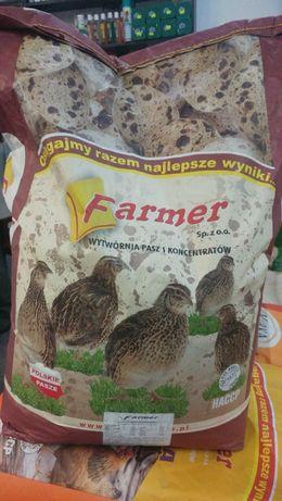 Pasza dla Przepiórek prestarter Farmer 25 kg