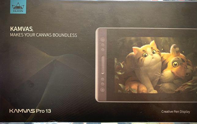 Продам Графический монитор Huion Kamvas Pro 13 с перчаткой