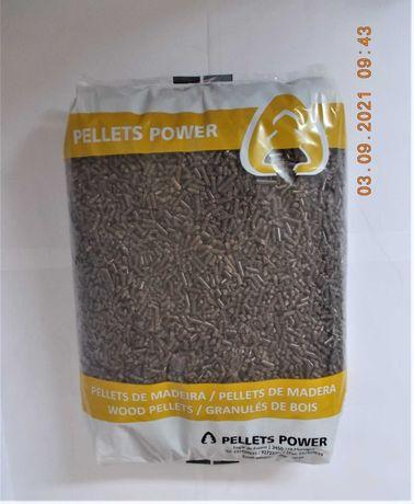 pellets power certeficados saco 15kg
