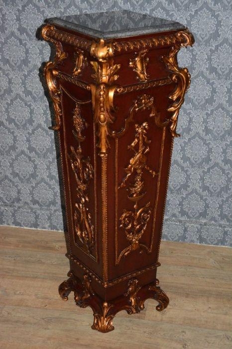 Lindo console decorado com bronze e mármore Costa Da Caparica - imagem 1