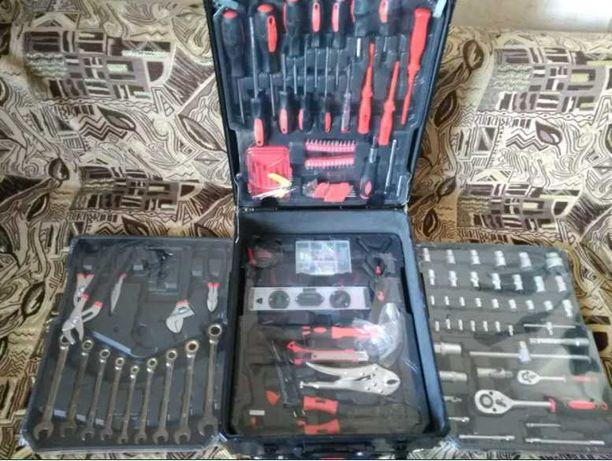 набор инструментов ручной в чемодане 408 предметов