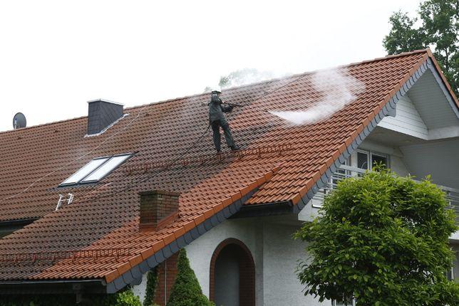 Malowanie Dachów, Dachówek Betonowych, Mycie 450 bar, Czyszczenie