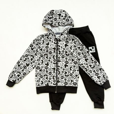 Детский Спортивный костюм Cool Mickey, серый (98/104/110/116/122)