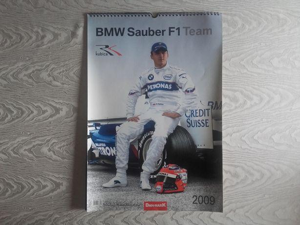 Kalendarz Robert Kubica BMW Sauber F1 2009 (3szt)