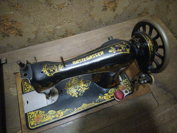 Maszyna do szycia Rast&Gasser stolik zabytkowa