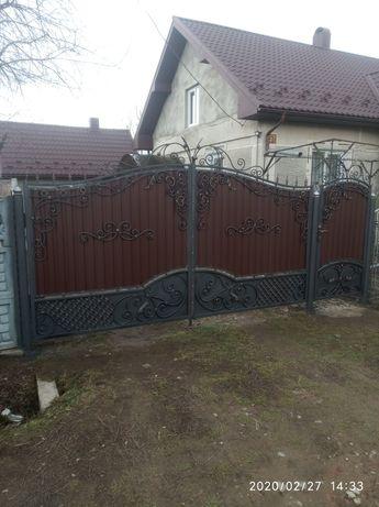Ворота перила гайдалки дашки під замовлення