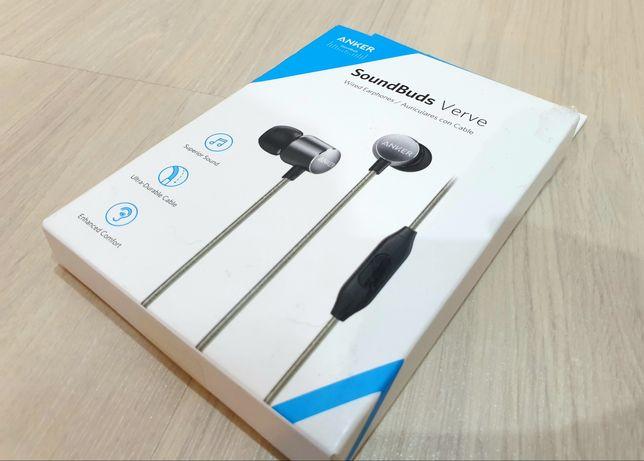 ANKER SoundBuds Verve słuchawki przewodowe