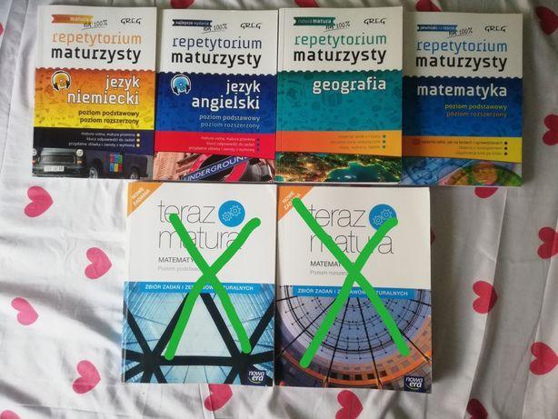 Książki do szkoły średniej, przygotowujące do matury