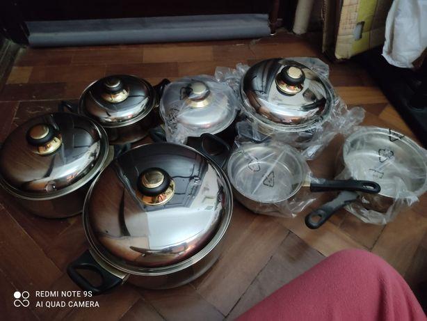 Conjunto Panelas de Cozinha de aço