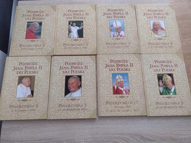 Tom książek o Janie Pawle II