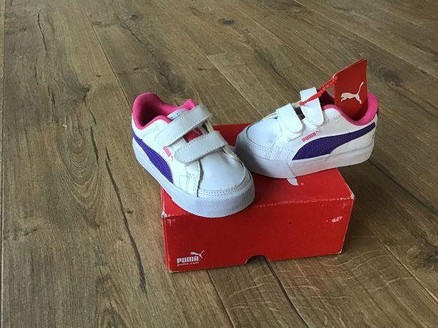 Sprzedam buciki puma dla dziewczynki roz.20 długość wkładki 13 cm