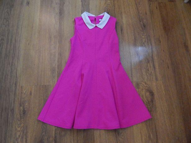 Różowa sukienka pensjonarka rozm. 134