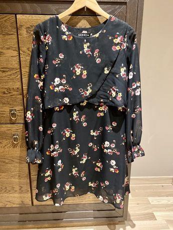 Sukienka Soho Fashion kwiaty święta