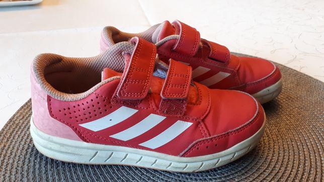 Okazja!!! Obuwie sportowe adidas dla dziewczynki rozm29