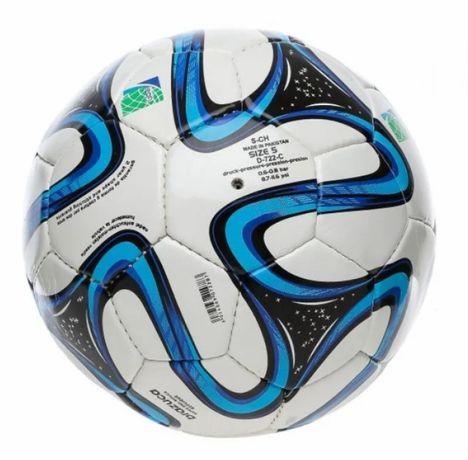 Мяч игровой, футбольный, полиуретан с 3-мя слоями
