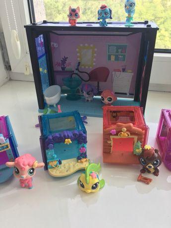 Игрушки петшопы ЛПС Littlest pet shop Lps