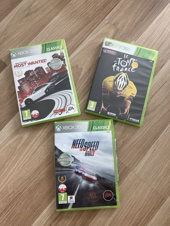 Zestaw gier xbox 360(Most wanted, Need for speed)