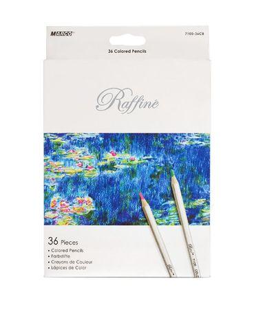 Карандаши цветные Marco Raffine 36 цветов (7100-36CB)