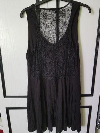 Piękna tunika/sukienka w r.52,koronka, zadbana, ATMOSPHERE