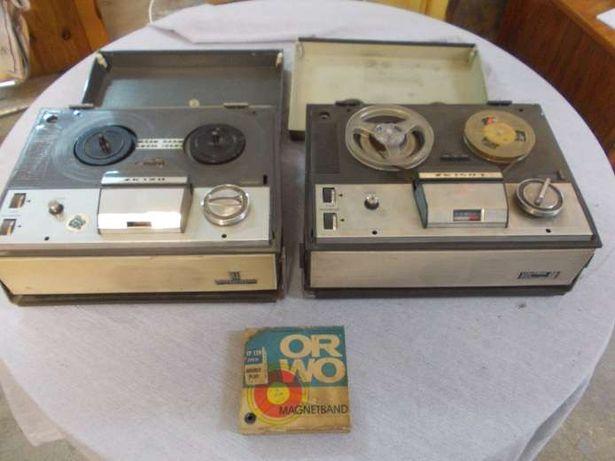Stary magnetofon szpulowy ZK 140T