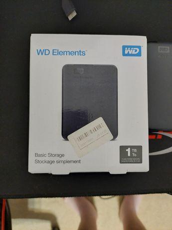 Жесткий диск wd elements 1tb