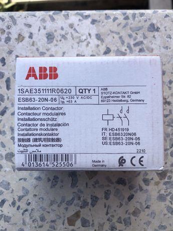 ABB ESB63-20N-06 Модульный контактор