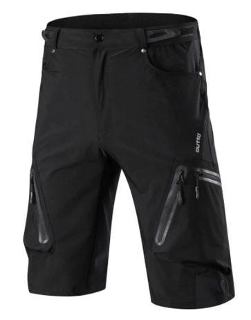 Spodnie rowerowe, męskie