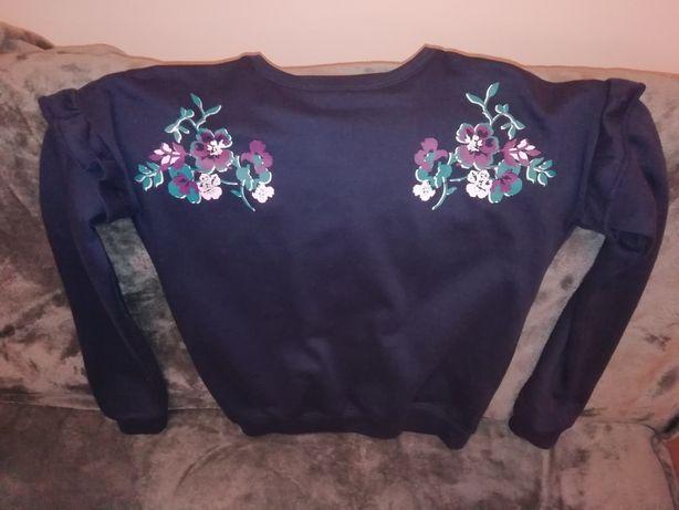 Granatowy sweterek dla dziewczynki Y. F. K.
