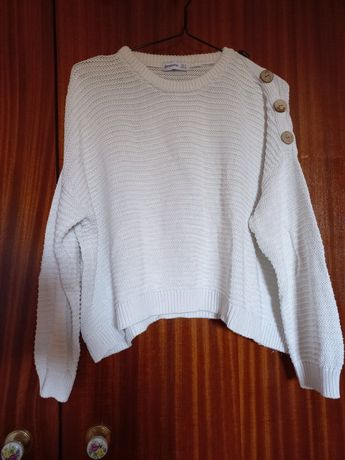 Camisola Malha Branca