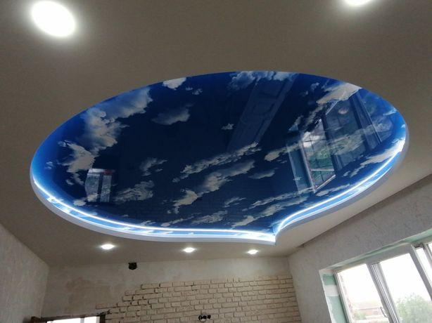 НАТЯЖНЫЕ потолки от 220грн. 1м2