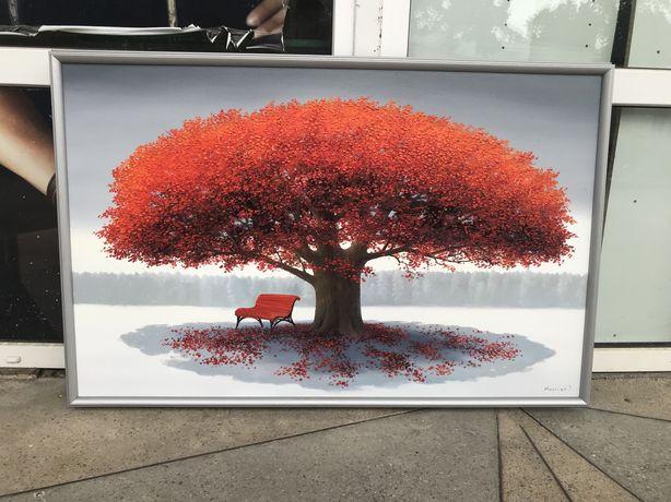 Картина «Дерево счастья»,масло,холст 110-70см.,исполняю работы на зака