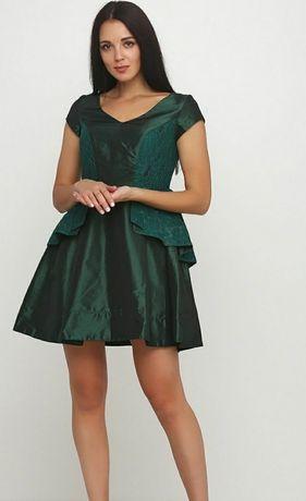 Платье Andre Tan мини с кружевом