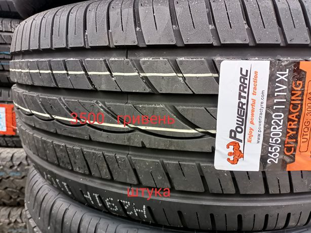 Шыны. 265 50 20 PowerTrac. Roadstone. Hankook