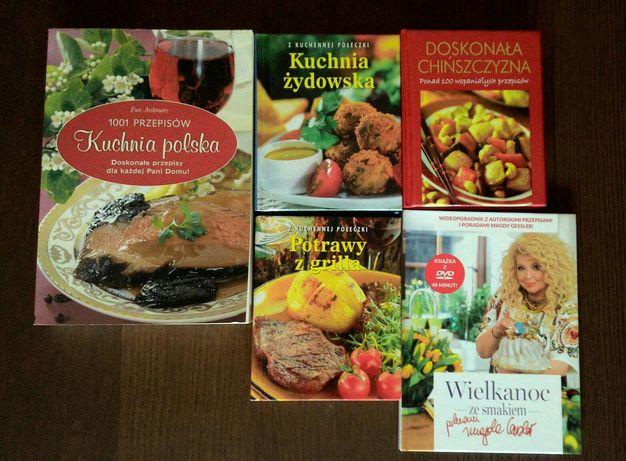 Książki kucharskie zestaw