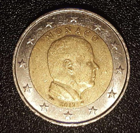 Moeda 2 Euros - Mónaco (2017)